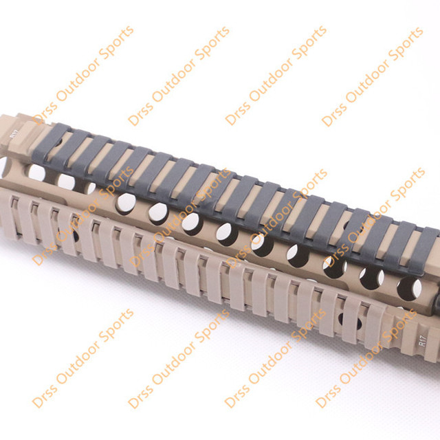 Drss Mp Ladder 18 Slots Low Profile Rail Covers 4pcs Pack Black For