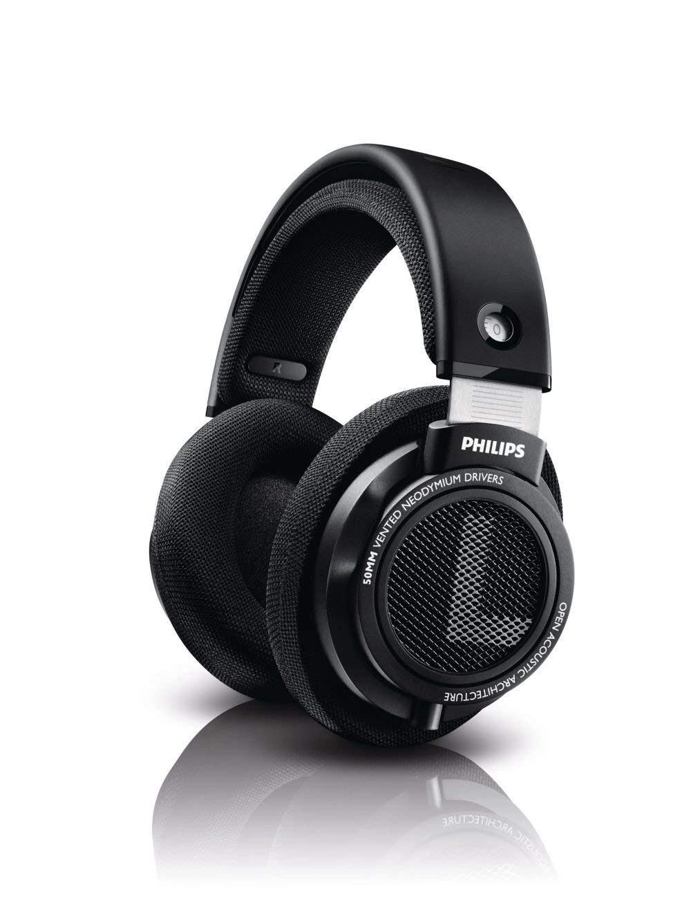 20840cd0a7f Philips SHP9500 HiFi Precision Stereo Over-ear Headphones adaptive noise  cancelling free shipping