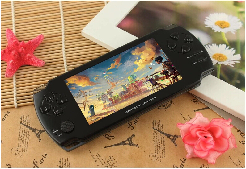Handheld Game Consoles Subor S10000A 4.3″ 8GB Children Game Consoles Classic NES Game With Video MP3 Camera juegos Wholesale