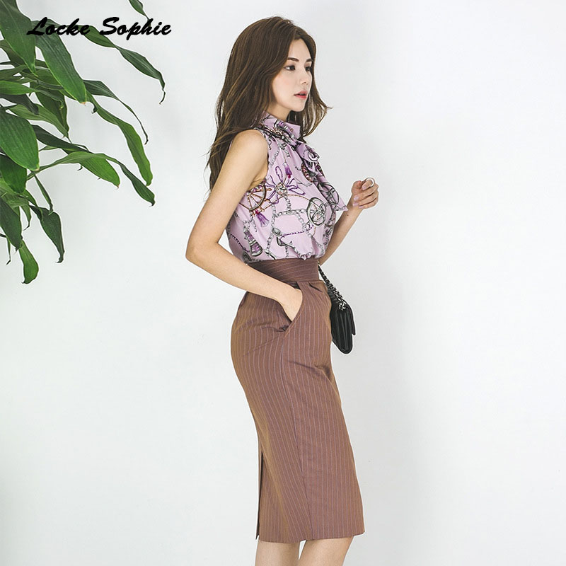 2 piece set women tracksuits twinset tops and skirts 2019 Autumn cotton Chiffon prints tops suits set ladies Skinny track suits in Women 39 s Sets from Women 39 s Clothing