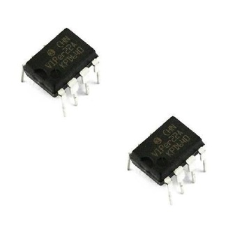 5 Pcs VIPER22A VIPER22 DIP-8 SMPS Primary Switcher NEW image