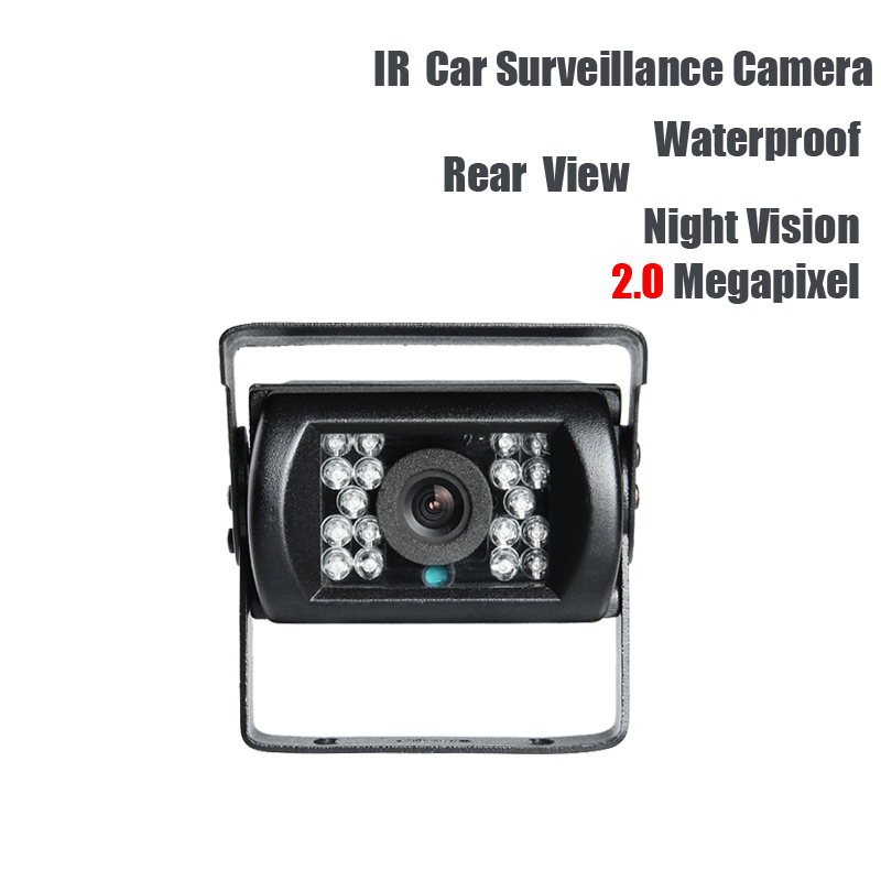 AHD 2.0MP Rear View Camera DC12V  for Vehicle Truck Lorry Bus Reverse Backup Camera Waterproof IR Night Vision Outdoor 4 channel 256g sd car vehicle dvr mdvr video recorder kit cctv rear view camera dome camera for truck van bus free shipping