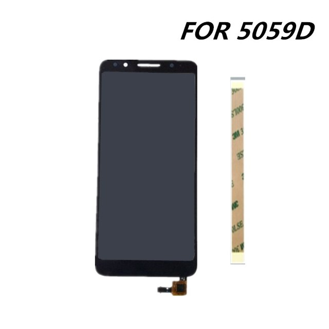 US $21 74 5% OFF|new 5 3inch For Alcatel 1X 5059D 5059 LCD Assembly Display  + Touch Screen Panel Replacement for Alcatel 1X 5059D 5059 Cell Phone-in