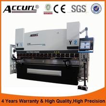 Factory price Hydraulic press brake machine,DA66T Press brake Plate bending machine