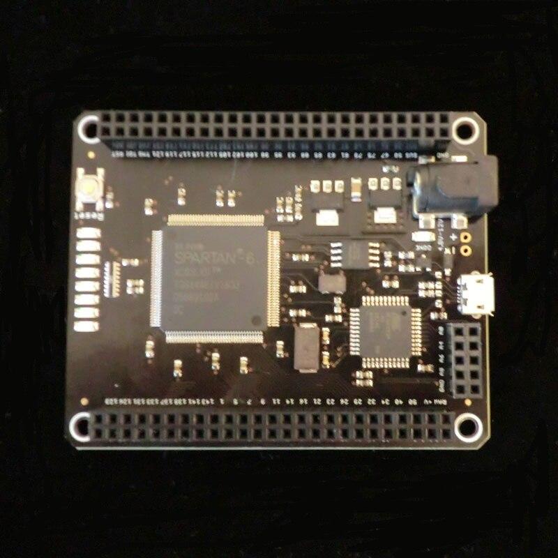 1 個の x モジョ v3 FPGA Devlopment ボード Spartan6 XC6SLX  グループ上の 電子部品 & 用品 からの 集積回路 の中 1