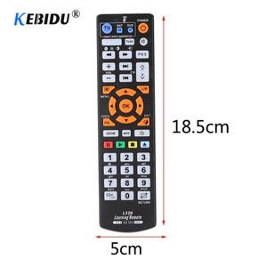 Image 2 - Kebidu Universal Smart IR Remote Control With Learn Function Replacement Remote Controller copy for TV STB DVD SAT DVB TV BOX