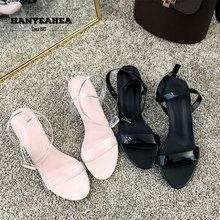 Brand New Sandalias De Verano Para Mujer Elegane Fashion Tacon Mature