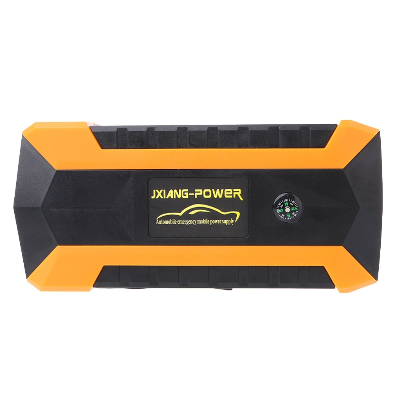 New High quality 89800mAh 4 USB Portable Car Jump Starter Pack Booster Charger Battery Power Bank ootdty 69900mah 89800mah 4 usb portable car jump starter pack booster charger battery power bank 600a