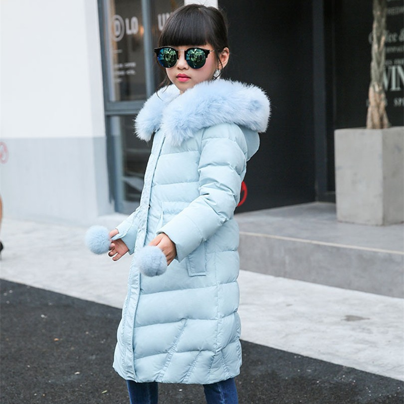 Aliexpresscom  Buy Winter Girl Down Jackets Girl Long -1041