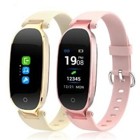 Smart Band S3P Female Smart Wristband Heart Rate Fitness smart Bracelet Ladies Women Watch Mp4 Pk xiaomi mi band 3 Pk mi band 2