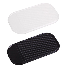Non-slip mat Magic Anti-Slip Dashboard Sticky Pad Non-slip Mat Holder For GPS Cell Phone Auto Accessories cheap CAR-partment Silica Gel holder for your mobile phone oto aksesuar