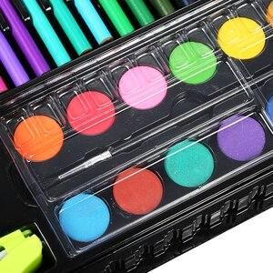 Image 2 - ใหม่มาถึง 150 ชิ้น/เซ็ตเด็ก Art Drawing จิตรกรรมเครื่องมือปากกา Crayon น้ำมันพาสเทลชุดของขวัญ