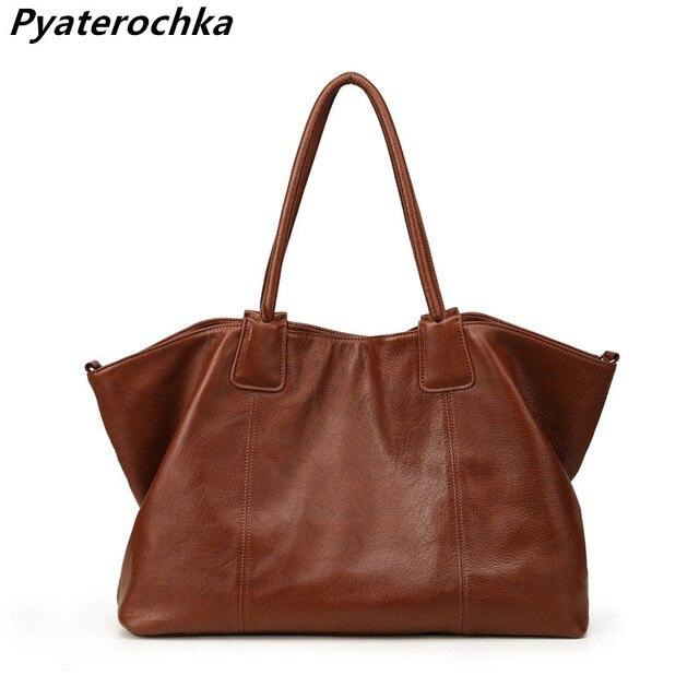 9e39faac5017 Pyaterochka Ladies Luxury Handbags Cheap Women Bags 2018 Famous Brand  Genuine Leather High Quality Shoulder Composite Bag BaoBao