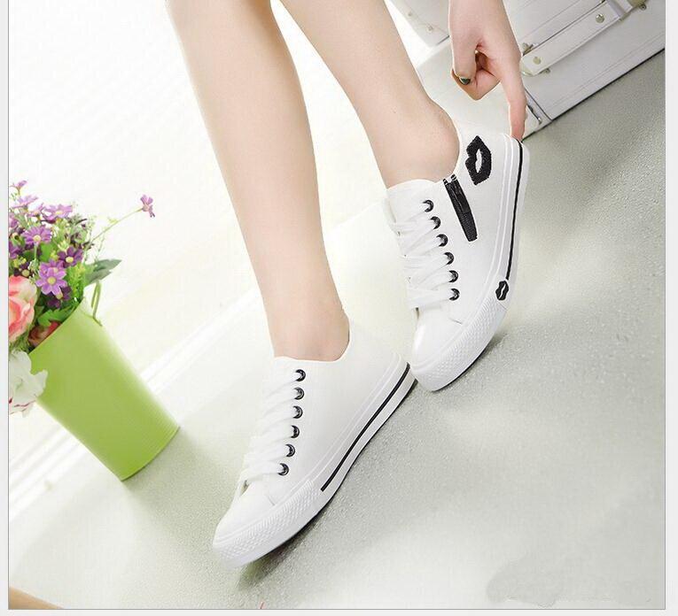35689d6d8 Venda quente Novas Mulheres primavera Sapatos de Verão Das Mulheres Sapatos  Casuais Sapatos Da Moda Sapatos