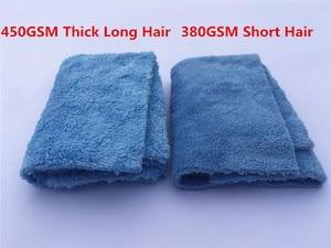"Image 5 - 50 Pack 450GSM ללא קצה לא שריטה מיקרופייבר מגבת 16 ""X16"" פרימיום רכב ליטוש, מרוט מגבת פירוט"