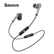 Baseus S30 Bluetooth Earphone Wireless Lightweight Sport earphones IPX5 Waterproof 3D Stereo Bass Earphone with HD Mic for Phone(China)