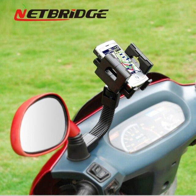 Мотоцикл Телефон Владельца Стенд Держатель Универсальный Для Iphone 7 6 6 s 5 Samsung Xiaomi Redmi Huawei Lenovo Противоударный