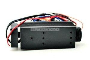 Image 3 - Industrial enfocable 1,6 W 2,4 W 808nm láser infrarrojo Módulo de diodos DC 12 V modo TTL