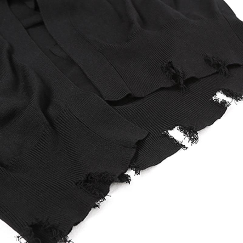 Botón En Completa Casual Nueva De xitao V Cuello Europa Chaquetas Dll3562 Único Largo Manga Color Con 2019 Breasted Black Suéter wSx7gq4