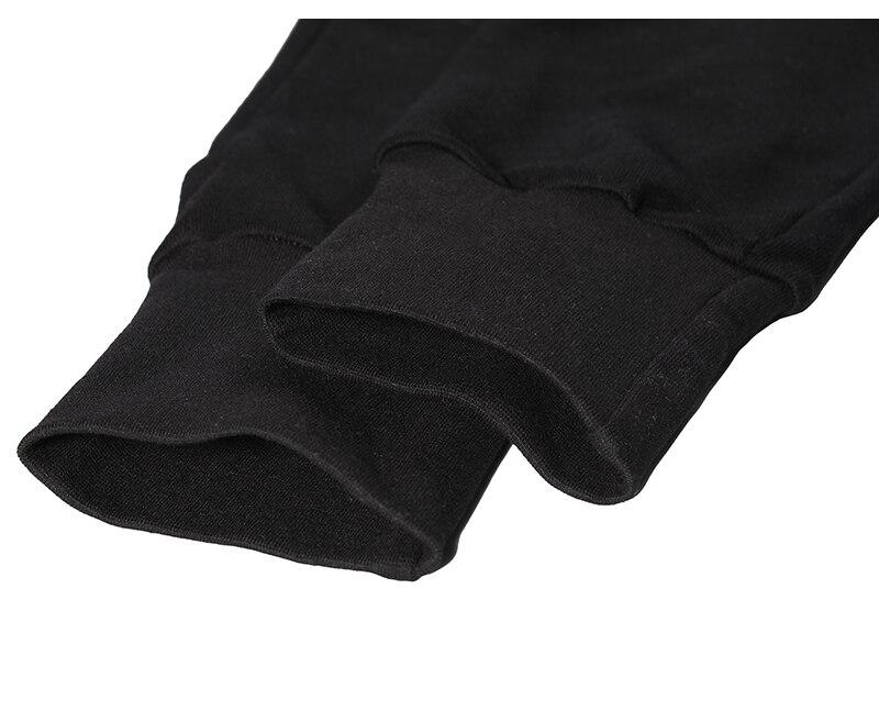 90 S nouveau HipHop RO style haute qualité modèle classique INS joker Chao personnes Terry coton noir loisirs pantalons de survêtement hommes femmes Oversize - 6