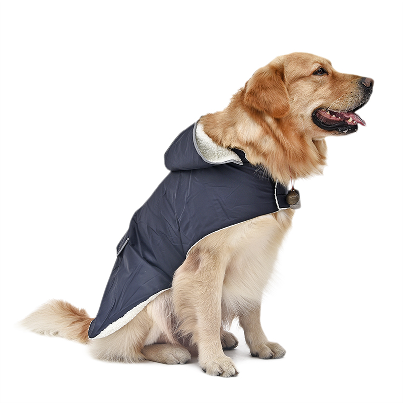 Freeshipping Blue Dog Clothes Coat Puppy Apparel Large ...