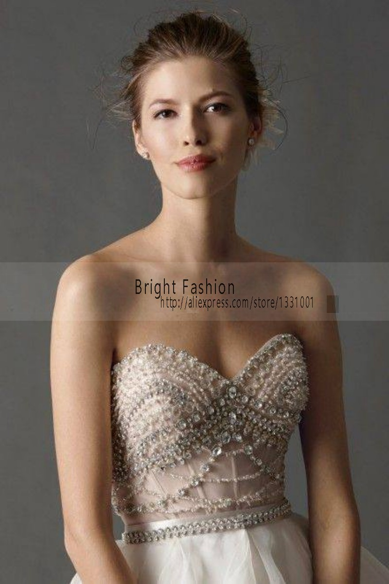 Y Sparkly Wedding Dresses Dropshipping 2017 New Arrival Off Shoulder For Brides Backless Weding Gowns In From Weddings