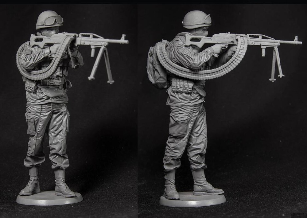 1/16 120mm Russian Stand  In Modern   Toy Resin Model Miniature Kit Unassembly Unpainted