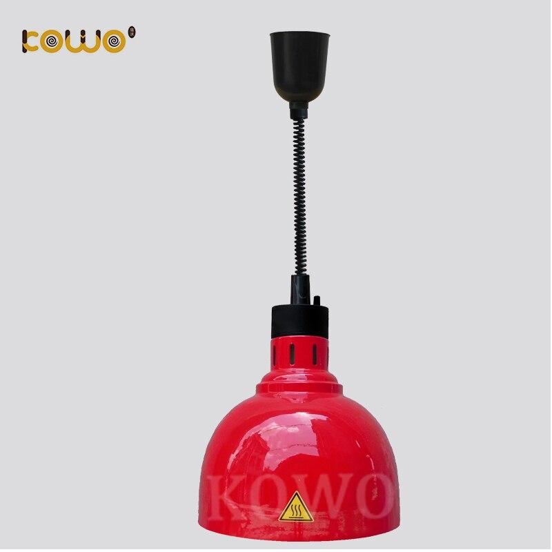 все цены на Commercial Electric Hotel Buffet Machines 1 Bulb Hanging Food Warming Heat Lamp