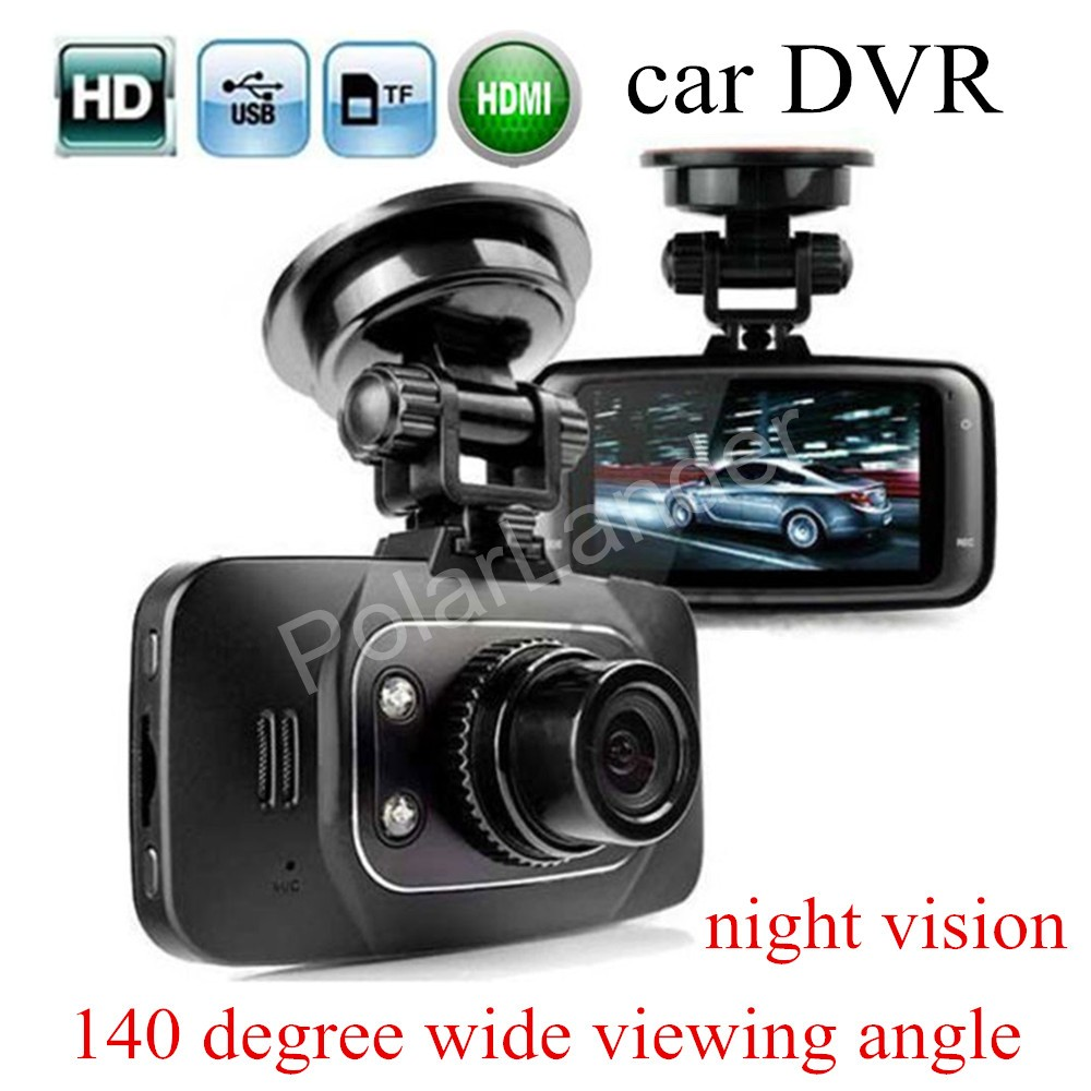 factory price sale Mini Car DVR Camera HD Recorder Video Registrator Night Vision Dash Cam GS8000 140 degree wide viewing angle