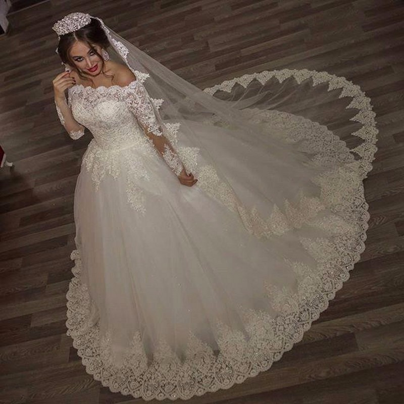 wuzhiyi wedding dress Custom Made ball gown robe de mariee Court Train vestido  de noiva wedding dress 2018 plus size China dress 89bf77a41e5f