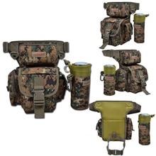 Trulinoya Outdoor Fishing Bag 29*22*12cm Multi-purpose Canvas Bags With YKK Zip Fishing Tackle Bags