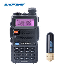 Baofeng UV-5R Walkie Talkie Portable Version UV 5R CB Radio Station Short Antenna Dual Band VHF UHF 5W UV5R Ham Two Way Radio(China)