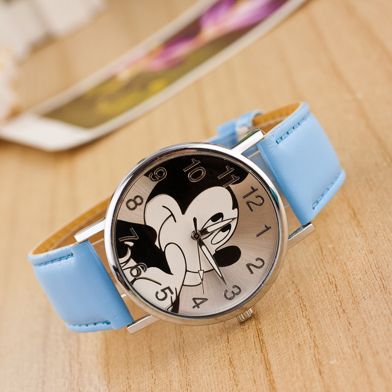Relojes de pulsera de regalo para estudiantes Cute Cartoon Quartz Top - Relojes para niños