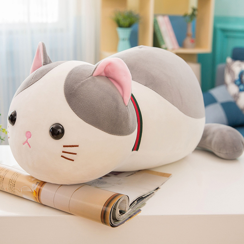 Kawaii Cat Plush Pillow Toy Doll Baby Girl Birthday Gift Stuffed & Plush Animals 35cm Stuffed Animals & Plush Toys For Children стоимость