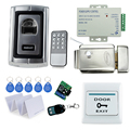 Biometric Fingerprint Reader Metal Electronic Lock kit set for Waterproof Fingerprint Access Control system