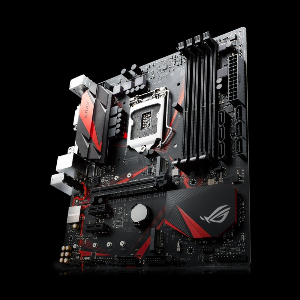 все цены на ROG STRIX B250G GAMING Desktop Motherboard B250 Socket Mainboard LGA 1151 i7 i5 DDR4 Support 32G SATA3 USB3.0 Micro-ATX онлайн