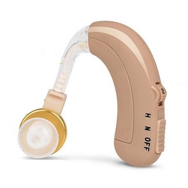 AXON C 109 Audífono BTE recargable, amplificador de sonido auditivo analógico, ajuste de O N H, dispositivo auditivo