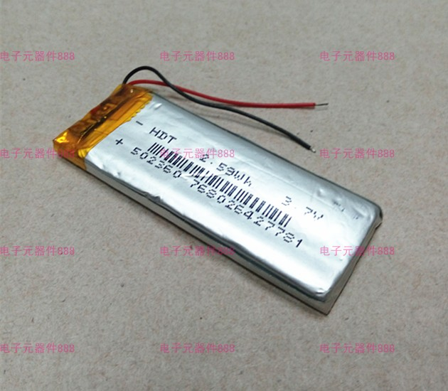 New Hot 3 7V lithium polymer rechargeable battery 502360 502260 MP3 4 5 Bluetooth battery Rechargeable