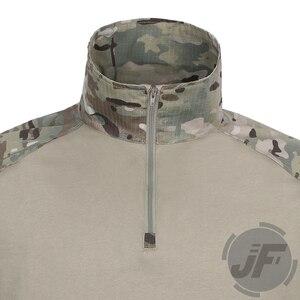 Image 4 - 에머슨 g3 컴뱃 셔츠 & 바지 바지 무릎 패드 세트 emersongear 전술 군사 사냥 gen3 위장 bdu 유니폼 mc