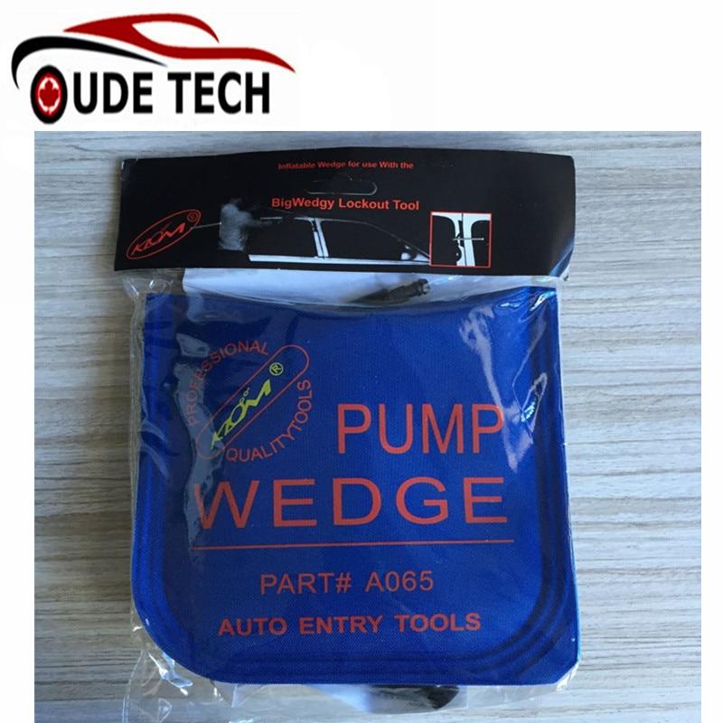 Air PUMP WEDGE LOCKSMITH TOOLS Auto Air Wedge Open Car Door Lock Small Black Size 185mm X115mm
