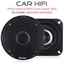 2pcs Car audio speaker 4 inch C