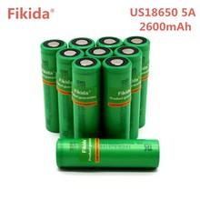 Nova Fikida VTC5A US18650 40A Descarga 3.6 v 18650 Da Bateria Original 2600 mah Alta Drenagem 40A Bateria Para Sony para e-cigarro