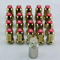 HOSO RACING Nhôm Lug Nuts M12 x 1.5 MÉT 20 cái/b