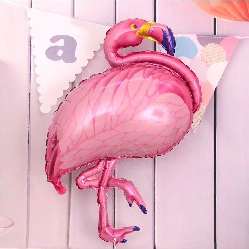 7pcs Wedding Decoration Mariage Inflatable Flamingo Foil Balloon Birthday Summer Hawaii Bride Tropical Party Supplies Boda
