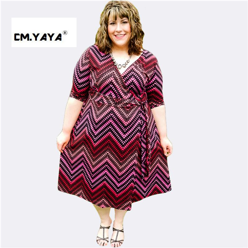 Cmyaya Women Casual Summr Purple Short Sleeve Neck