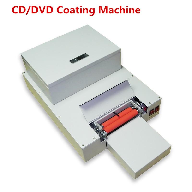 2018 nouveau 1 ensemble CD DVD UV revêtement machine bureau UV enduit, CD stratification machine brillant huile revêtement machine sur haute qualité