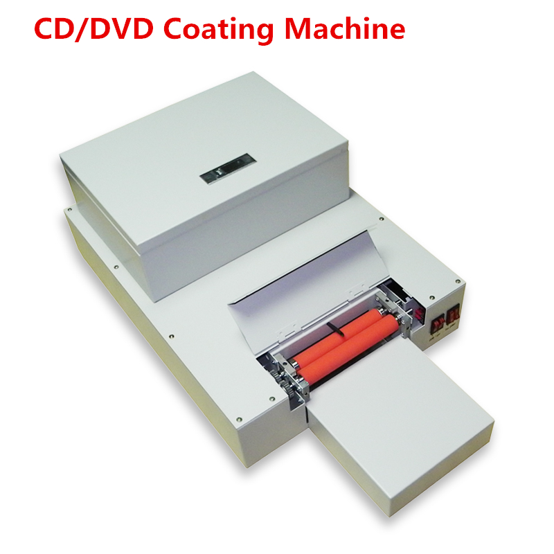 2018 New 1 set CD DVD UV coating machine Desktop UV coater, CD Laminating machine glossy oil coating machine on high quality laser automatic cd disk uv coating machine laminating coater extrusion laminator with high quality on hot sales