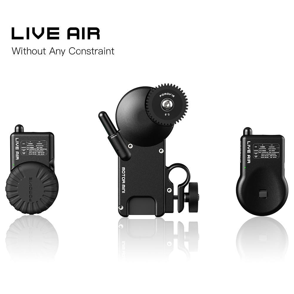 NUOVO PDMOVIE LIVE ARIA PDL-AF E PDL-AZ Bluetooth Wireless Follow Sistema di Messa A Fuoco Per Giunto Cardanico o REFLEX Obiettivo Della Fotocamera e così sul NUOVO