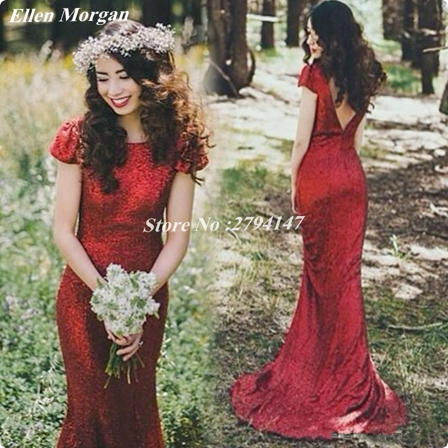 Compare prices on bridesmaid dresses for beach wedding online red simple bridesmaid dresses long 2017 beach garden wedding party vestido madrinha under 100 o neck ombrellifo Image collections