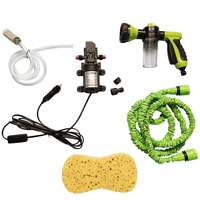 Multifunction Portable Auto Foam Water Sprayer High Pressure 3 Grade Nozzle Jet Car Washer Sprayer Cleaning Tool